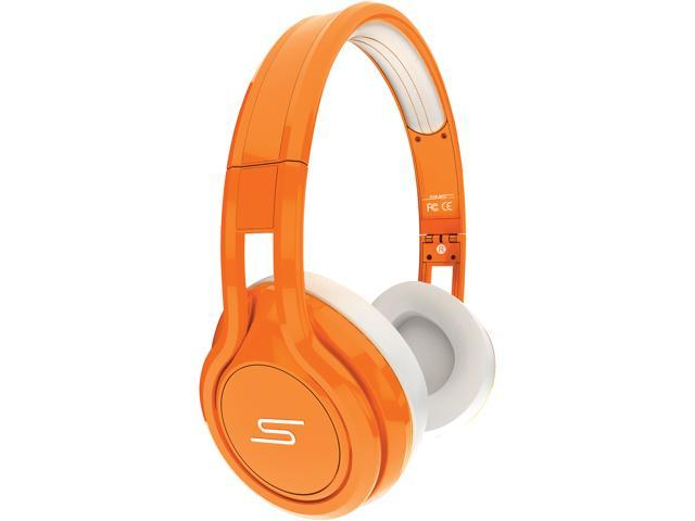 SMS Audio STREET by 50 Orange SMS-ONWD-ORG Wired On-Ear Headphones