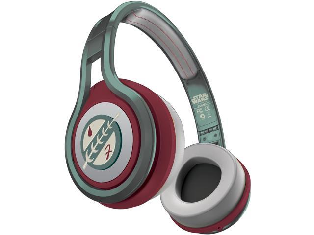 SMS Audio Boba Fett SMS-ONWD-SW-BOBAF On Ear Wired Street for Star Wars Boba Fett