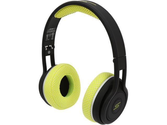 SMS Audio Yellow SMS-BTWS-SPRT-YLW SYNC by 50 On Ear Wireless Sport Headphone