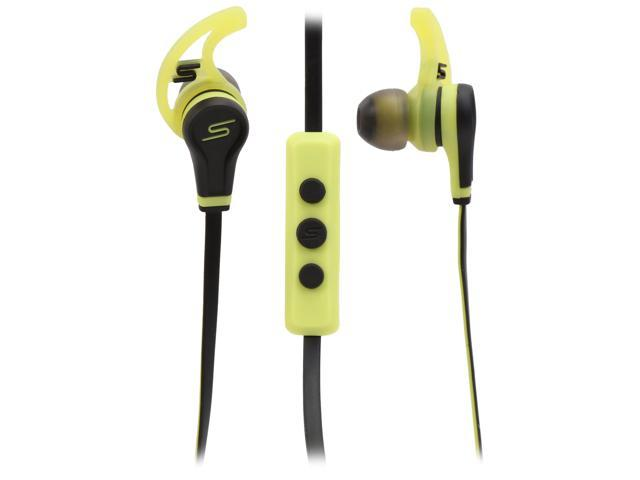 SMS Audio Yellow SMS-EB-SPRT-YLW 3.5mm Connector Earbud Street By 50 In-ear Sport Wired Headphones