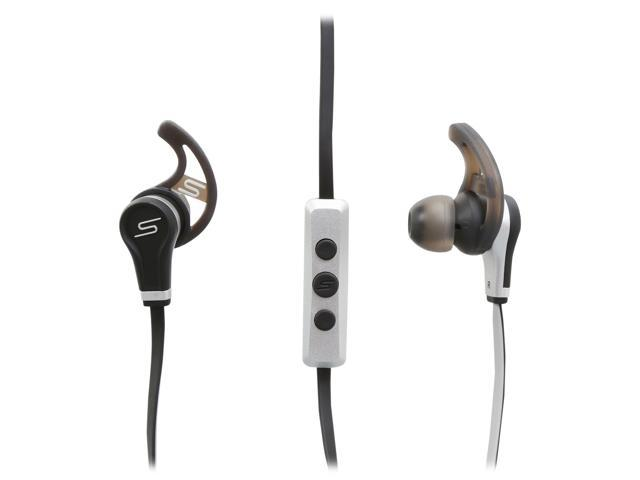 SMS Audio Black SMS-EB-SPRT-BLK 3.5mm Connector Earbud Street By 50 In-ear Sport Wired Headphones