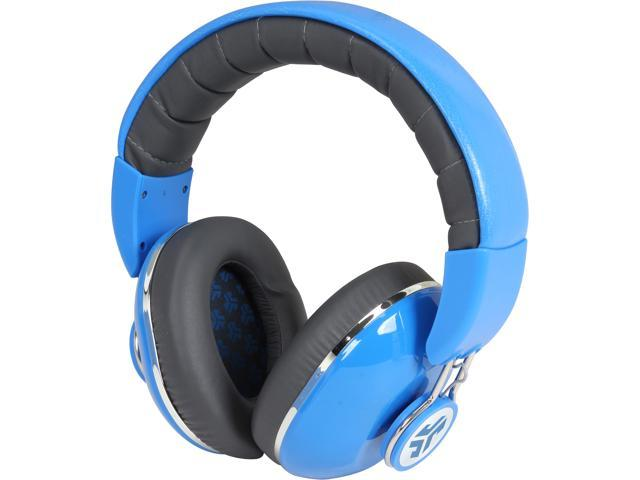 JLAB Baja Blue / Grigio Gray BOMBORA-BLU-BOX Over the Ear Headphones, Baja Blue / Grigio Gray