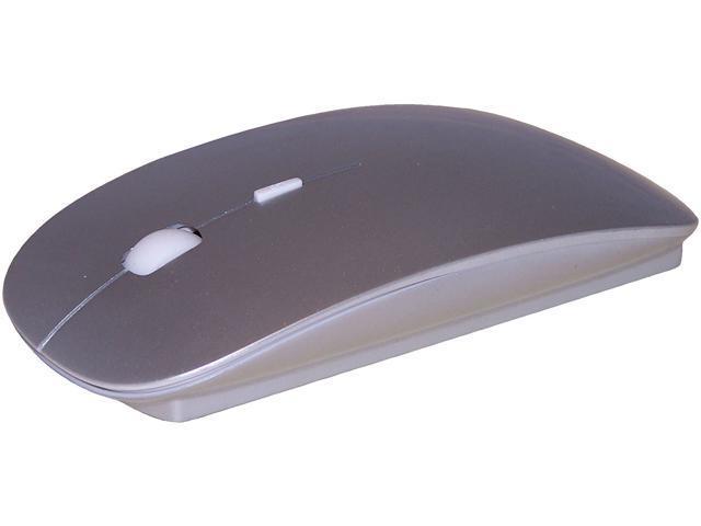 Rockstick MS-102SSBT Silver Bluetooth Wireless Laser Bluetooth Mouse (Silver)