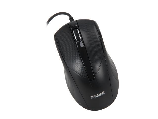 ZALMAN ZM-M100 Black 3 Buttons 1 x Wheel USB Wired Optical Mouse
