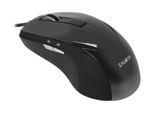 ZALMAN ZM-M200 Black 5 Buttons 1 x Wheel USB Wired Optical Mouse