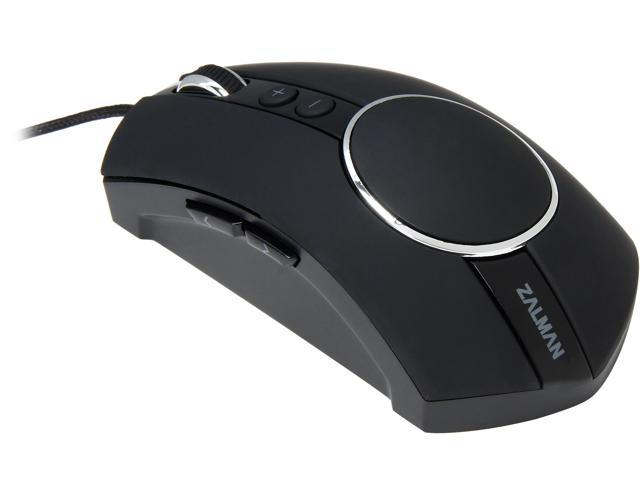 ZALMAN GM3 7 Buttons 1 x Wheel USB Wired Laser Eclipse Premium Laser Gaming Mouse