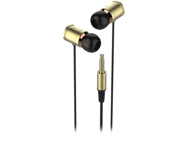 KWORLD S25 Elite Mobile Gaming Earphones with Ultra Bass Gold