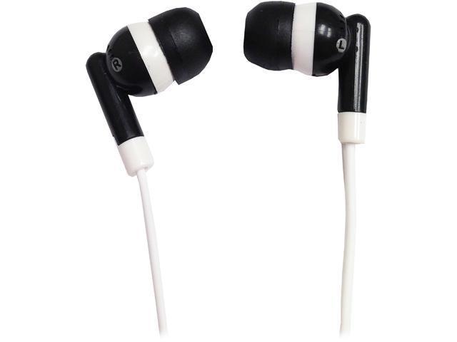 SuperSonic Black IQ-101BLACK Earbud Digital Stereo Earphone