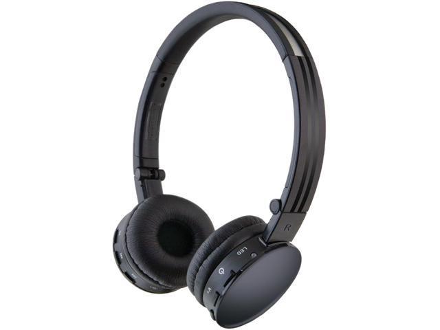 iLive Black IAHB33B Supra-aural Bluetooth Wireless Headphones