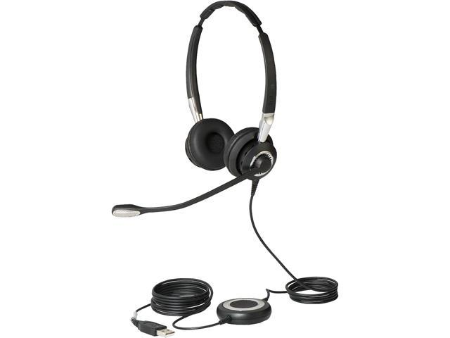 Jabra 2499-823-309 Biz 2400 II Duo USB, NC, CC, MS Headphone