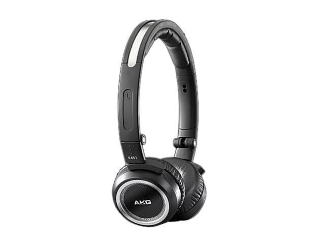 AKG Black K451BLK 3.5mm Connector On-Ear High-Performance Headphone