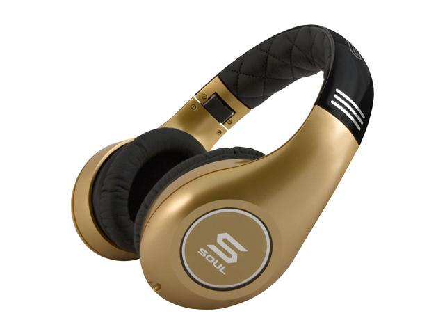 Soul by Ludacris Gold SL300GG Circumaural High Definition Noise Cancelling Headphone