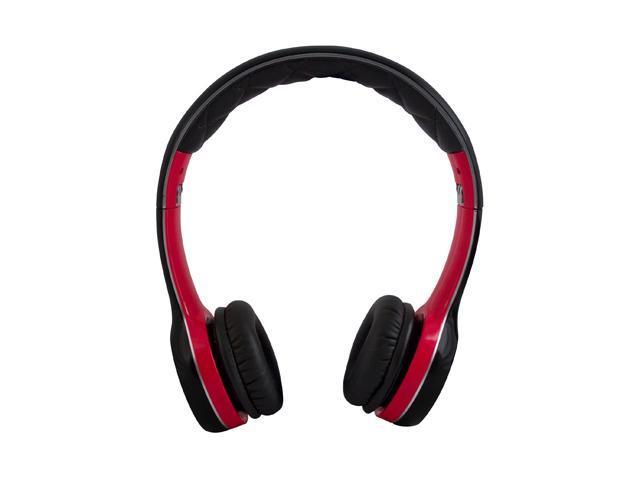 Soul by Ludacris Black/Red SL100RB Ultra Dynamic Headphone