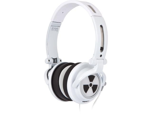 Ifrogz EarPollution CS40 EP-CS40-WHT/WHT Circumaural Headphone (White)