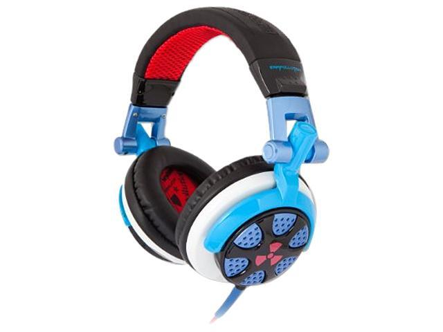 Ifrogz Bright Blue/Red EP-RN-BBL/RED Circumaural Ronin Headphones