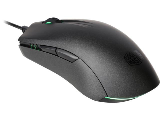 MasterMouse Pro L Ambidextrous Gaming Mouse with Interchangeable Grips