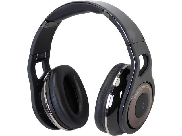 SCOSCHE Black RH1060 3.5mm Connector Bluetooth Reference Grade On Ear Headphones (Black)