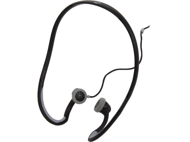 SCOSCHE HPSW66MBK Sport Clip Earbuds with tapLINE III Remote and Mic - Black
