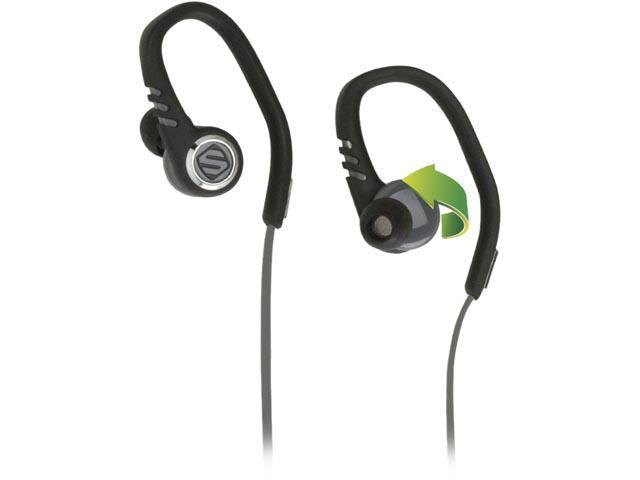 SCOSCHE SCH-HPSC3TI Sport Earbuds with TapIt Remote and Mic (Black)