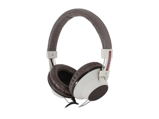 Incipio NX-104 Circumaural f38 Hi-Fi Stereo Headphone - Espresso
