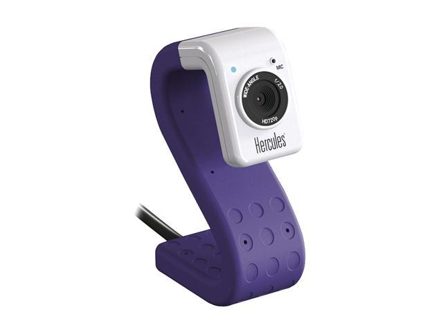 Hercules 4780732 HD Twist USB 2.0 Purple Mini Webcam