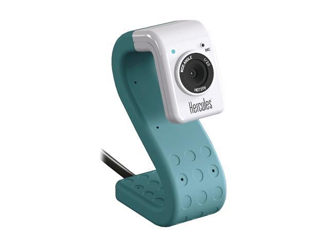 Hercules 4780735 HD Twist Turquoise Mini Webcam