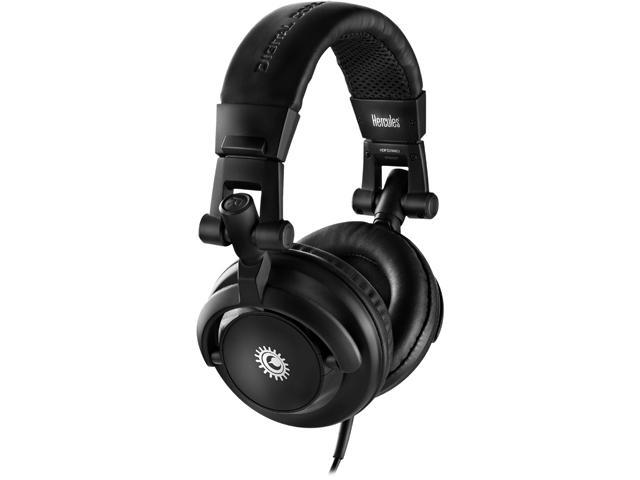 "Hercules 4780507 1/8""/3.5 mm stereo mini-jack plug  1/4""/6.35 mm stereo jack adapter Connector Supra-aural Headphone/Headset"