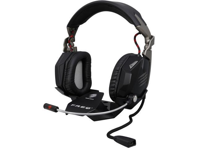 Mad Catz F.R.E.Q. 7 Surround Sound Gaming Headset for PC - Matte Black