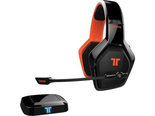 Mad Catz Tritton Katana 7.1 3.5mm/ USB Connector Circumaural Wireless Surround Headset for Consoles