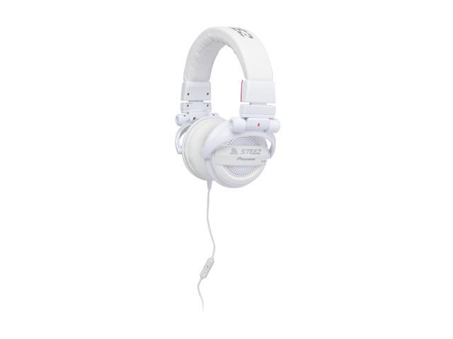 Pioneer SE-D10MT-W STEEZ Dance - Inspired Dubstep On-Ear Headphones with In-Line Mic/Control - White