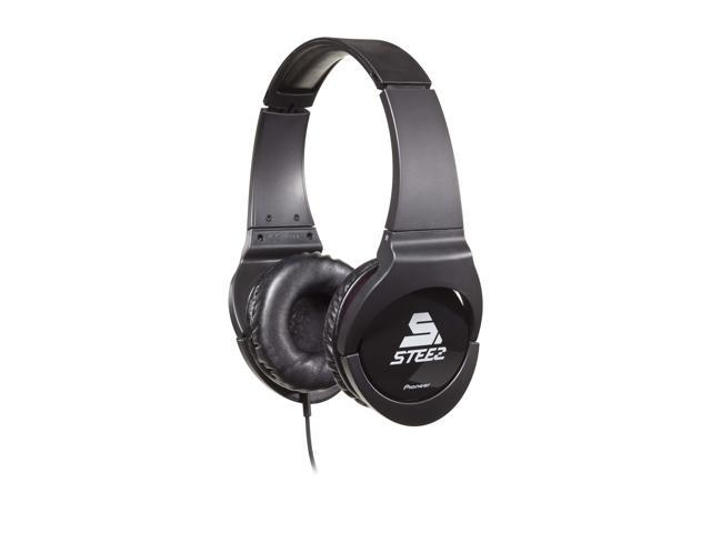 Pioneer SE-MJ721I-K STEEZ Dance - Inspired Effects On-Ear Headphones with Apple In-Line Mic/Control - Black