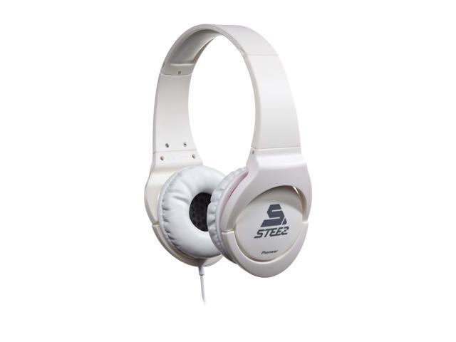 Pioneer SE-MJ721I-W STEEZ Dance - Inspired Effects On-Ear Headphones with Apple In-Line Mic/Control - White