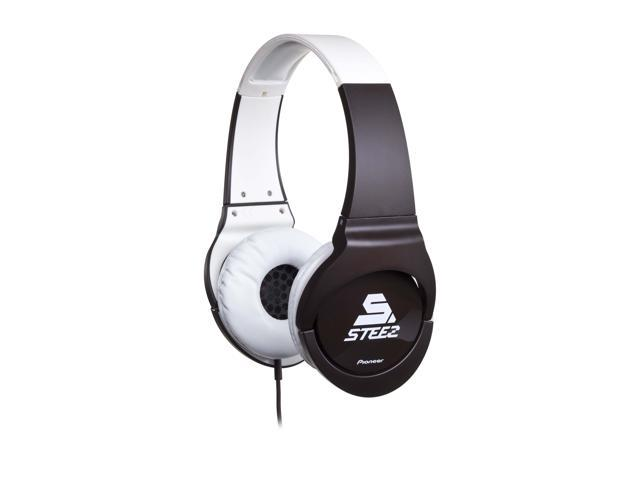 Pioneer SE-MJ721I-T STEEZ Dance - Inspired Effects On-Ear Headphones with Apple In-Line Mic/Control - Brown