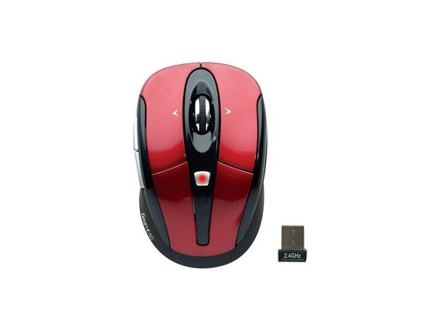 Gear Head MPT3200RED-CP10 Wireless Optical Nano Mouse - Red