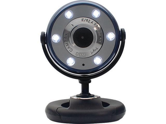 GEAR HEAD WC1100BLU 1.3 M Effective Pixels USB 2.0 WebCam