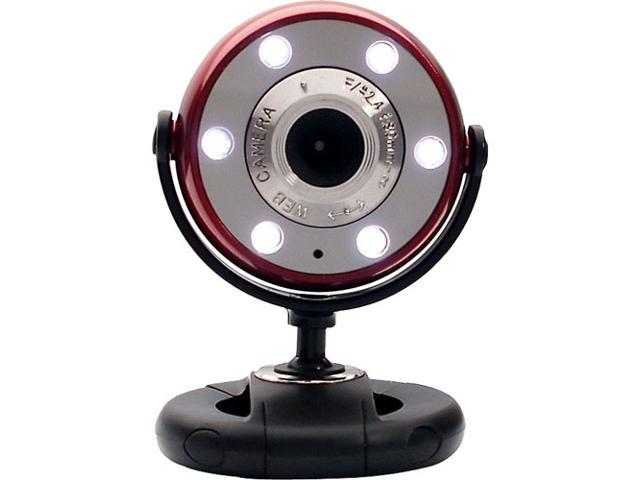 GEAR HEAD WC1200RED 1.3 M Effective Pixels USB 2.0 WebCam