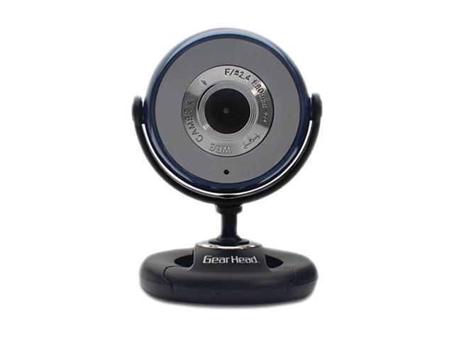 GEAR HEAD WC745BLU Plug-n-Play WebCam for PC