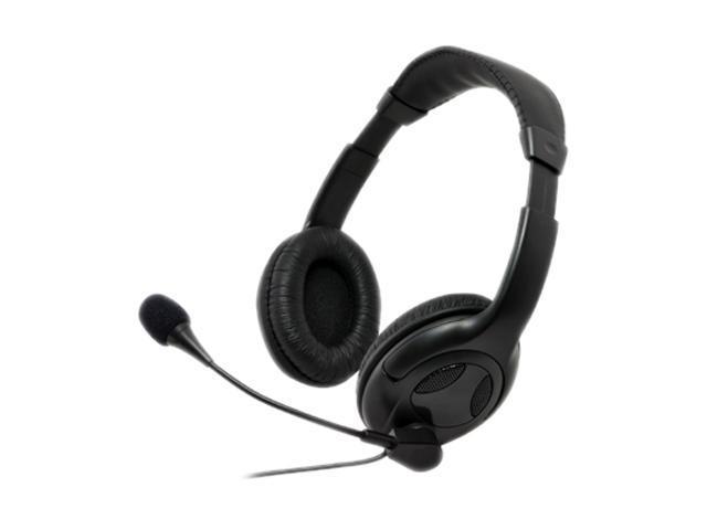 Gear Head AU3700M Circumaural Universal Multimedia Headset with Microphone
