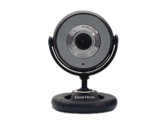 GEAR HEAD WC740I 1.3 M Effective Pixels USB 2.0 Plug-n-Play WebCam for PC/Mac