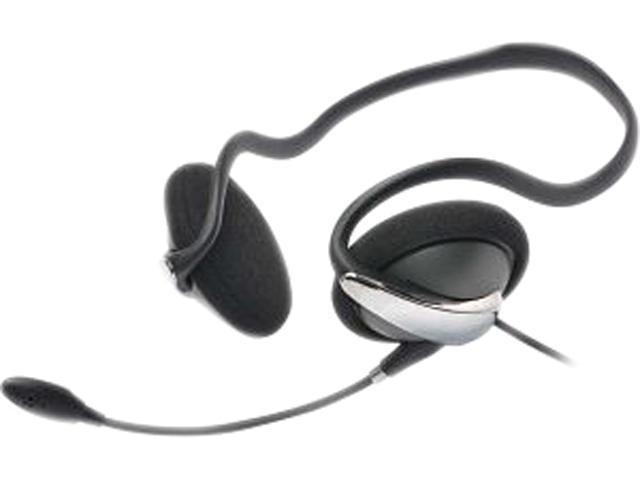 Gear Head BN2450NC 3.5mm Connector Supra-aural Behind the Neck Headset w/ Noise Canceling Mic