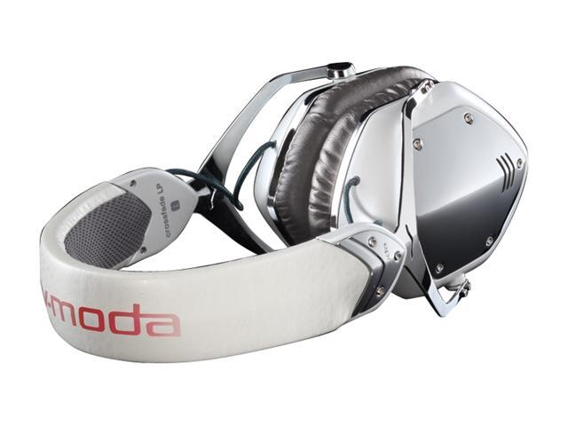 V-Moda Crossfade LP White x flpr-pwhite Circumaural Headphone (White Pearl)
