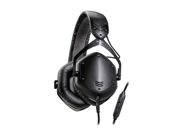 V-Moda Crossfade LP2 XFLP2R-MBLACKM Over-Ear Remote-Matte Black Metal Headphone
