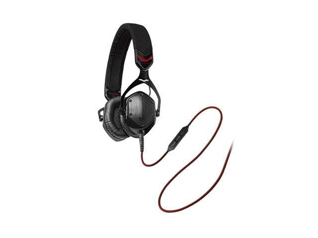 V-Moda Crossfade M-80 Shadow M-80-SHADOW Supra-aural On-Ear Noise - Isolating Metal Headphone - Shadow
