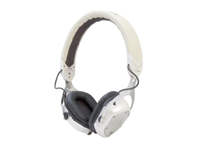 V-Moda Crossfade M-80 On-Ear Noise -Isolating Metal Headphone - White Pearl