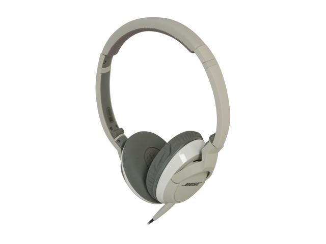 Bose White OE2i White On-Ear Audio Headphone for Music and iPod / iPhone Controls