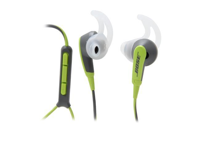 Bose SIE2i Sport Headphones with Armband and In-Line Mic and Apple Control - Green
