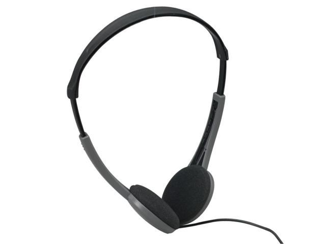 Maxell HP-200F 3.5mm Connector Supra-aural Lightweight Stereo Headphone