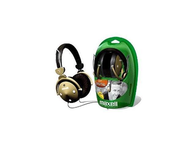 Maxell HP-550F 3.5mm Connector Circumaural Digital Foldable Full Ear Headphones