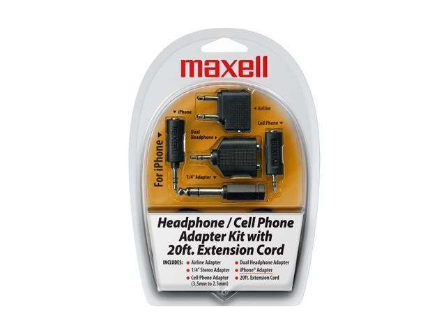 Maxell 190398 Headphone/ Cell Phone Adapter Kit (HP-21)
