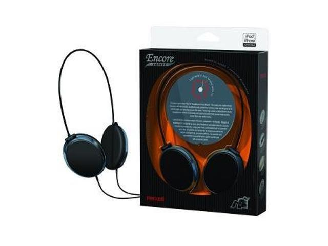 Maxell 190230 EN-1 Supra-aural Encore Digital Headphones